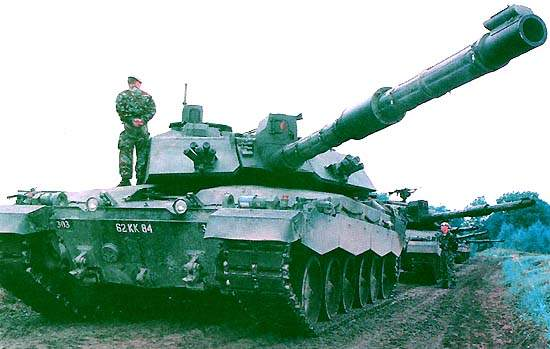 The Challenger 2 Main Battle Tank entered service with the British Army in June 1998.