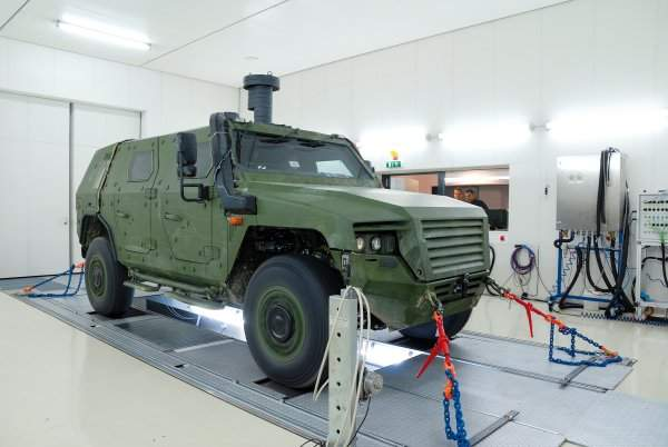 4WD Chassis Dynamometer