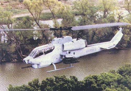 The H-1 programme upgrades the US Marine Corps fleet of AH-1W Super-Cobra and the UH-1N utility helicopters.