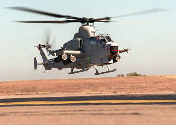 AH-1Z completed its first test flight on 7 December 2000.