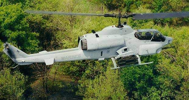 AH-1W Super Cobra is amongst the world's most versatile attack helicopters.