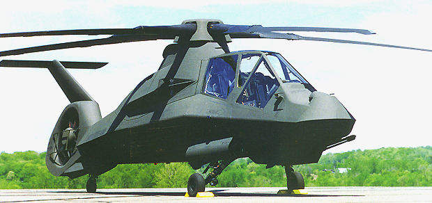 The Boeing-Sikorsky RAH-66 Comanche.