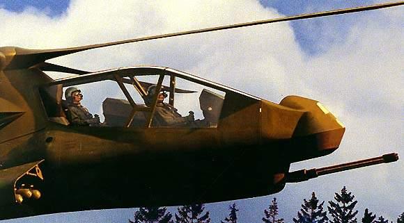 Comanche Automatic Machine Gun