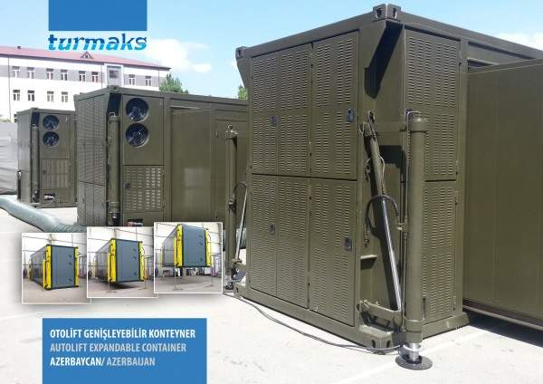 auto-lift container