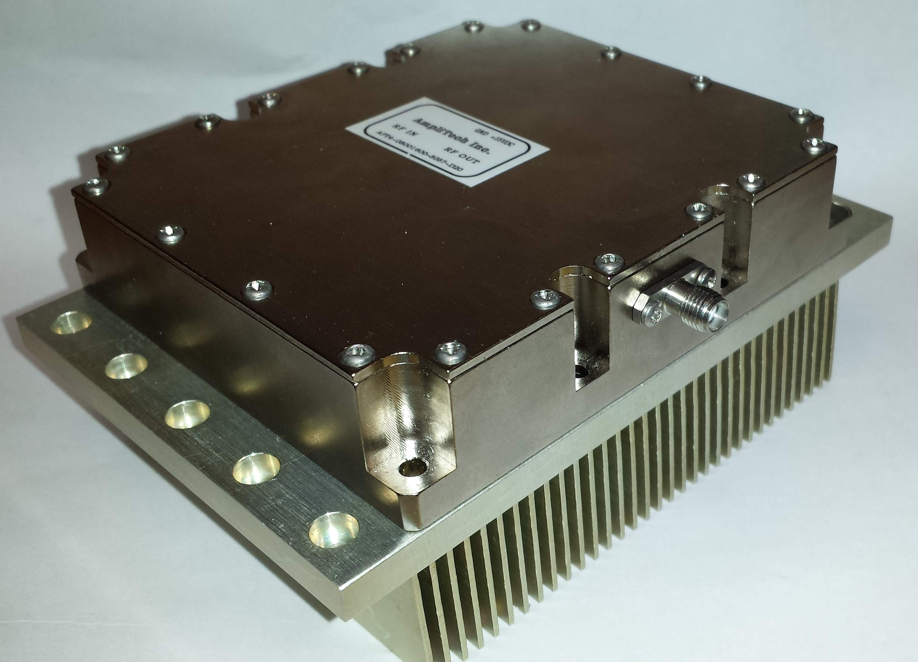 A metal box