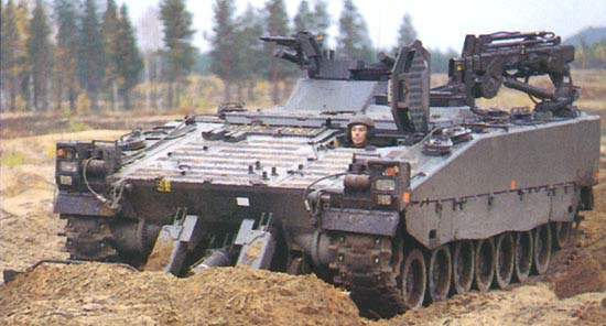 Troop operating the CV90 Armoured Recovery Vehicle (ARV)