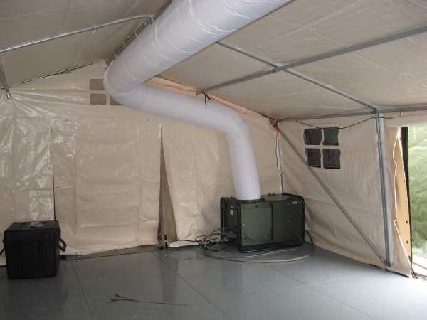 CBRN air conditioner