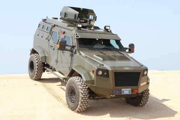 tactical armoured vehicles