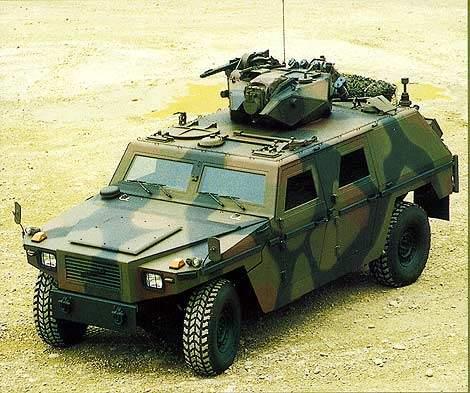 Eagle Armoured Reconnaissance Vehicle