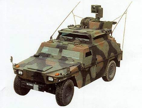 Eagle III has an electro-optical target acquisition and surveillance system.