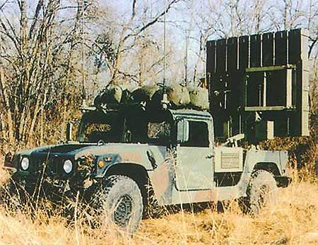 Firing unit of the EFOGM Anti-Armour Missile system