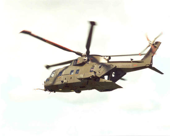 AW101 on patrol.