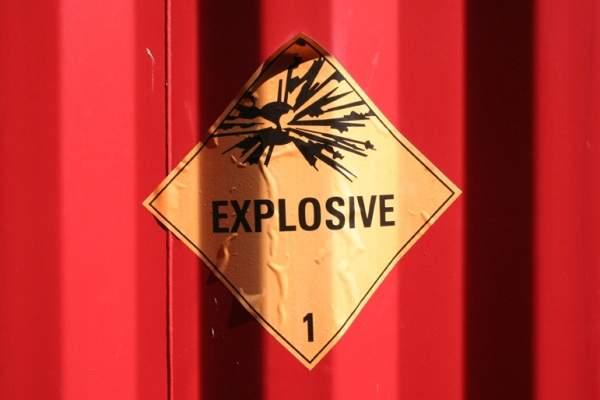 explosives transportation