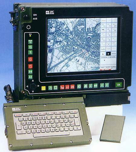 Fennek Tactical Command and Control system (TCCS).