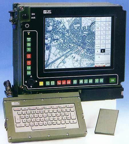 Fennek Tactical Command and Control system (TCCS).