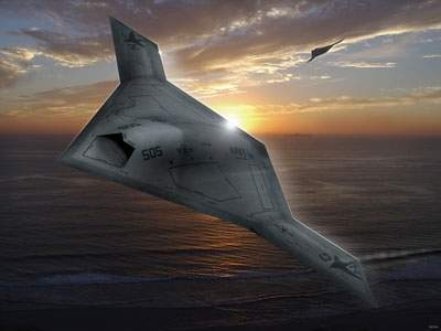 X-47B aircraft