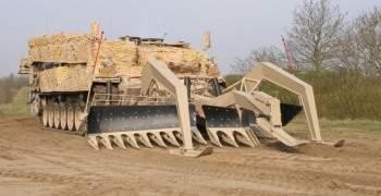 full width breacher vehicle