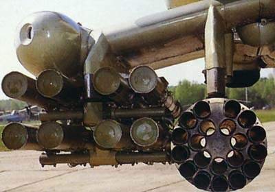 The Mi-28N can be armed with air-to-air and air-to-ground missiles, rockets, and podded guns.