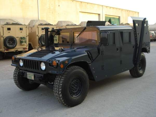 up-armored HMMWV