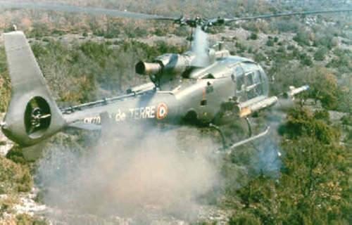Gazelle Combat Helicopter