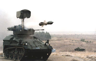 Successful HOT ATM test firing at Jagerbruck, Germany in July 1999.