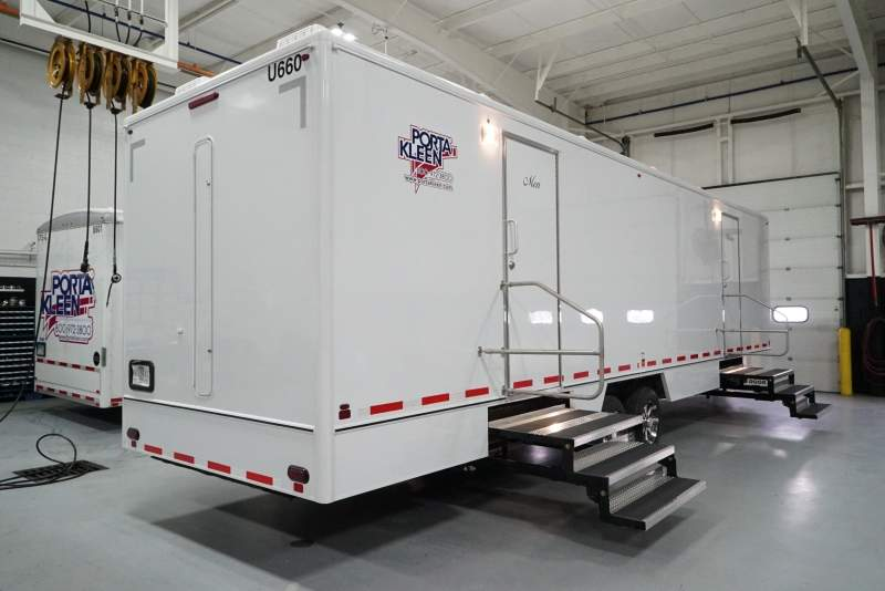 CP-5 Portable Restroom Trailer