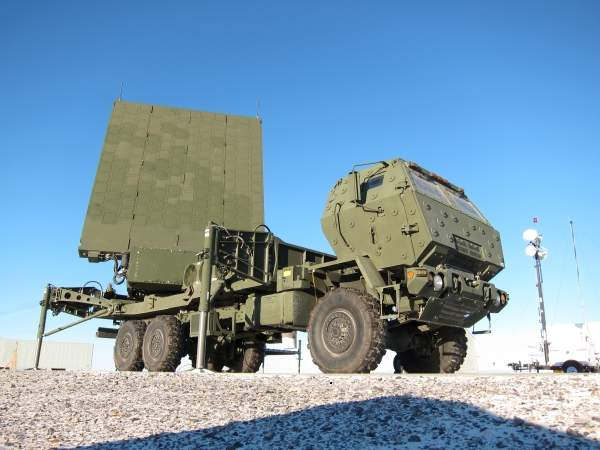 MEADS high-power phased array radars