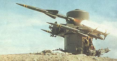 Upgraded Rapier systems firing MK2 missiles