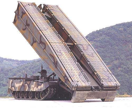 The Kl Armoured Vehicle Launched Bridge.