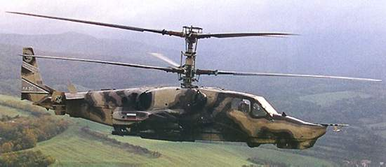The single-seater Ka-50 Black Shark (shown) has led to the two-seater Alligator combat helicopter.