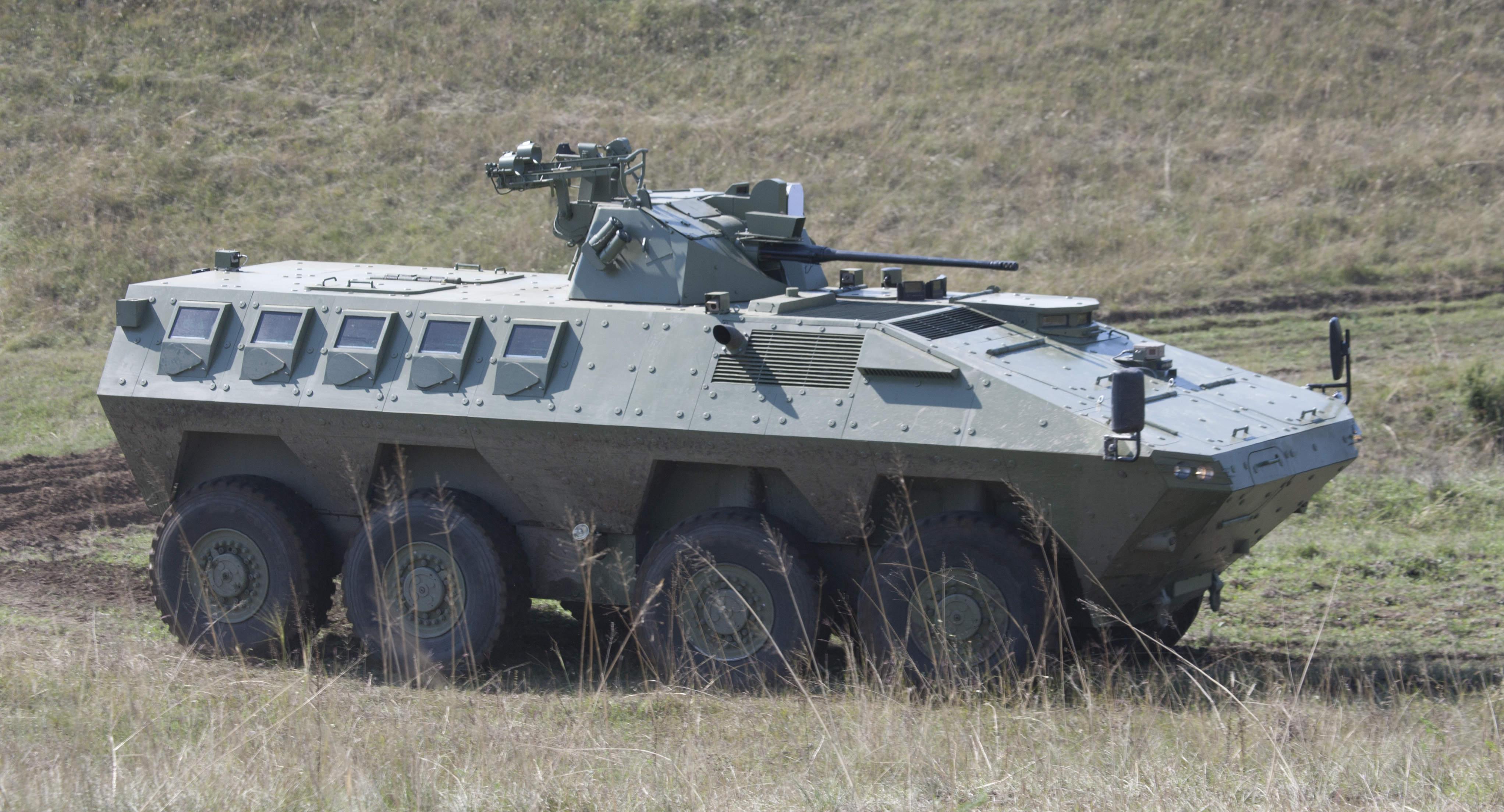 A green tank
