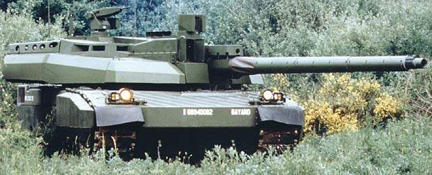Leclerc Main Battle Tank hidden in greenery