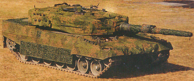 The Leopard 2 main battle tank is fully capable of acquiring targets and engaging them at night or in bad weather.