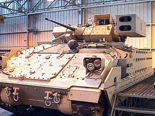 A Bradley M6 Linebacker ADA variant.