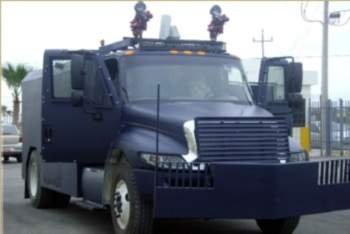 Little Bear Riot Vehicle