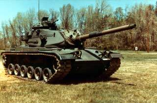 M60 Tank with 152mm Gun