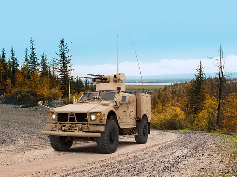 Oshkosh MRAP All-Terrain Vehicle (M-ATV) Assault - Army