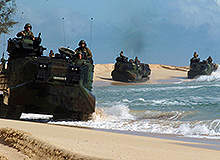 Over land and sea – the world's best amphibious assault vehicles