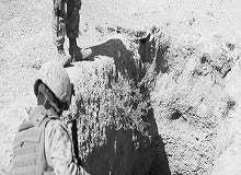 Marines investigate insurgents' underground highway