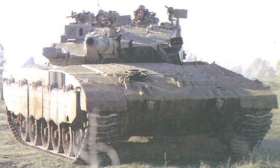 The Merkava mk3 has a higher-power main gun than previous variants.