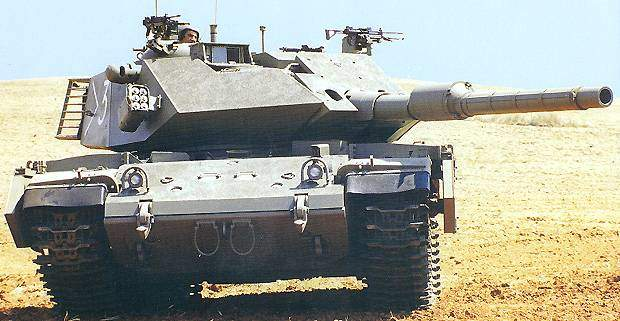 Sabra Tank is an Upgraded M60Tank