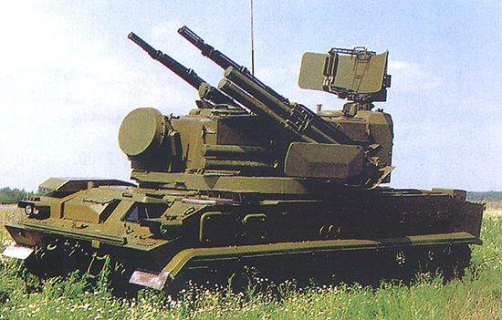 Tunguska-M1 is a gun/missile system for low-level air defence.
