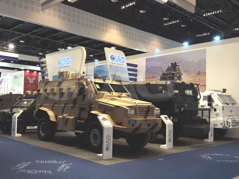 Rila MRAP vehicle