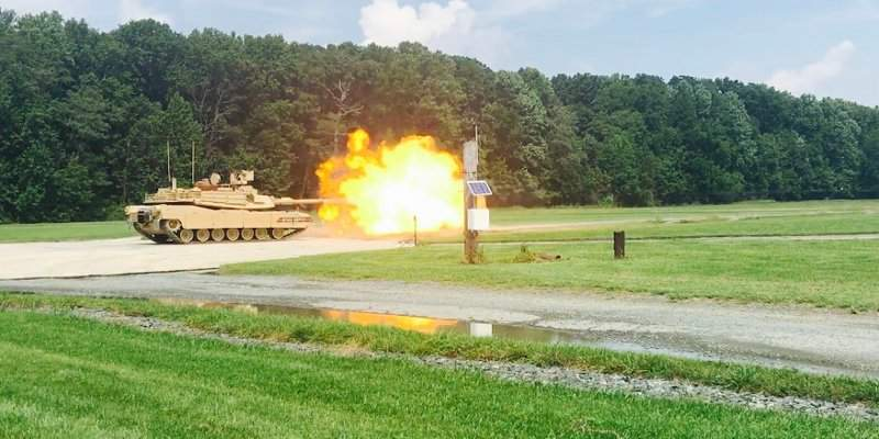 M1A2 SEPv3 live-fire demonstration