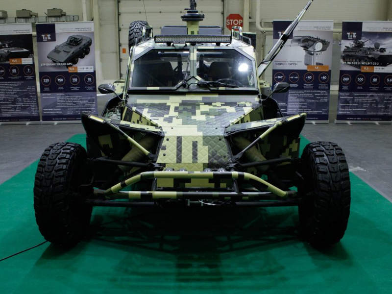 Techimpex Light Tactical Vehicle (LTV) was displayed for the first time at the Arms and Security 2017. Image courtesy of National Industrial Portal.