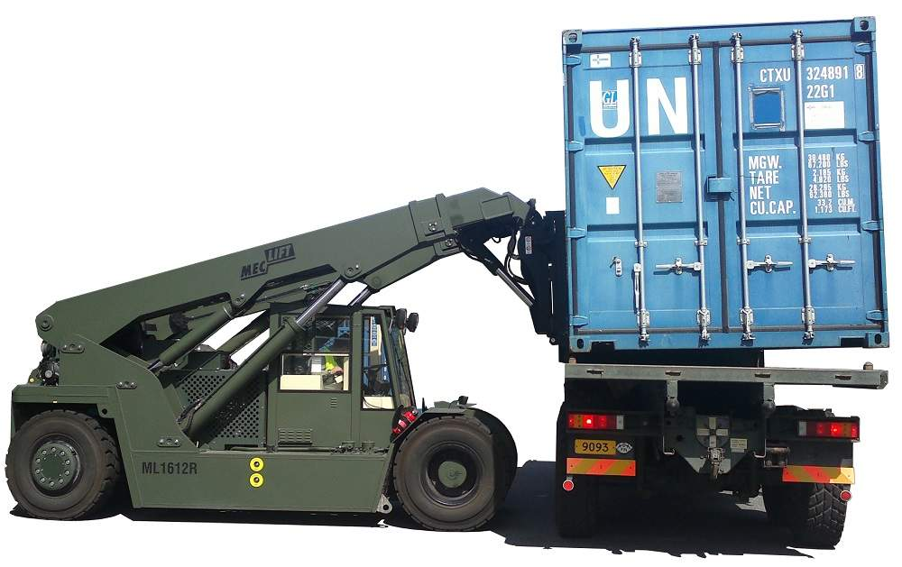 ML1612R lifting container to truck