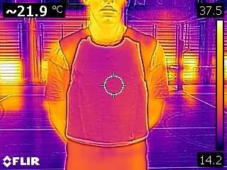 heat sensor vest