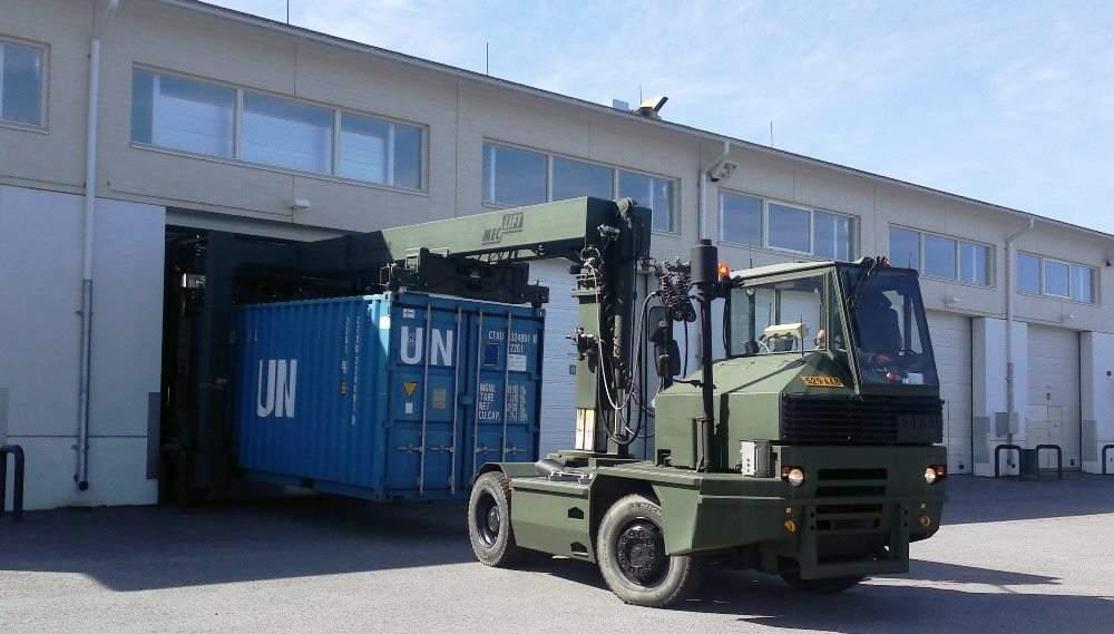 ML36CM entering warehouse