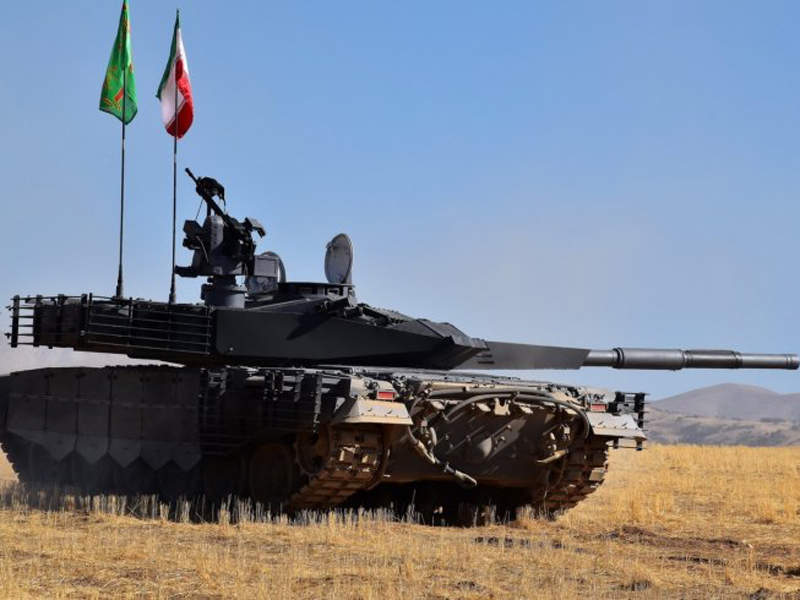 The Karrar MBT is scheduled to be delivered to the armed forces in 2018. Image: courtesy of Amirsgolbazi.