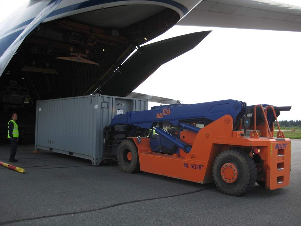 ML1612R unloading container